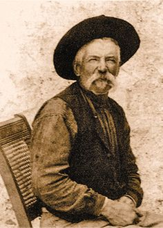 """George """"Dad"""" Peppin, corrupt Sheriff of Lincoln County. Serving as Deputy to Sheriff William Brady. Later became sheriff after Brady was shot & killed and his replacement John Copeland was dismissed Jim French, Old West Outlaws, Famous Outlaws, Cowboys And Indians, Real Cowboys, Old West Photos, Billy The Kids, Father Of The Bride, Wild West"""