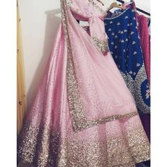Pure silk/rawsilk lehenga cholli set with net dupatta Work - total hand work Upon order confirmation, we will send you a measurement chart/ Form which you will need to fill in inches ,so that it can made to your size Indian Wedding Outfits, Bridal Outfits, Indian Outfits, Bridal Dresses, Indian Clothes, Wedding Dress, Wedding Fabric, Desi Wedding, Casual Wedding