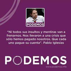 """Pablo Iglesias insiste en que """"absolutamente todo"""" está por decidir dentro de la organización de Podemos e insiste en que siguen llegando adhesiones al partido, además de apoyos económicos, tras lanzar sus mensajes habituales contra """"la casta política"""" que """"nos ha conducido al desastre"""".."""
