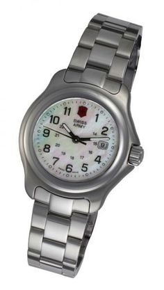 ladies swiss army watches | Details about Ladies' Swiss Army Officer's Watch 24729
