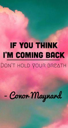 Conor Maynard - R U Crazy  Made by: MINNIEUNIVERSE