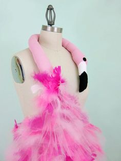 Pink Flamingo Costume Avant Garde 50s Inspired by WearTheCanvas