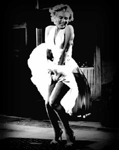 The Seven Year Itch Skirt Scene Animated
