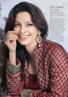 One of the best smiles in the business. #Juhi #Bollywood