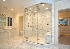 I like the glass in this shower