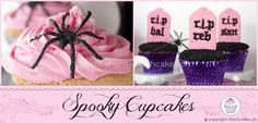 Spooky Halloween Cupcakes Pink : Kitschcakes, Providing you with Sweet Smiles & Sweet Memories Sweet Cupcakes, Love Cupcakes, Shops, Halloween Cupcakes, Sweet Memories, Spooky Halloween, Cupcake Recipes, Cake Pops, My Favorite Things
