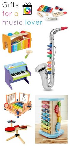 {Lots of great gift ideas for little music lovers} Yay! Excited to be listed in this great gift guide on Inner Child Giving