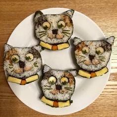 フランス人の作ったネコ巻き寿司がすごい!ついでに #飾り巻き寿司 の写真やレシピを集めてみた - Togetterまとめ