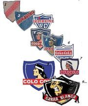 Colo-Colo - La Frikipedia Garra, Cavaliers Logo, Rey, Team Logo, Joker, Necklaces, Amor, Bicycle Kick, Champs