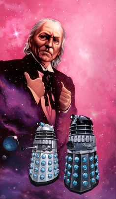 The Daleks' Masterplan (1965) 4000 AD and the Guardian of the Solar System, Mavic Chen, has betrayed Earth and given the Daleks the means to create their supreme weapon: Time Destructor.Doctor steals the taranium element and a chase through space ensues.During the course of the adventure two of the Doctor's companions -Katarina & Sara are killed.  And also features Nicholas Courtney's debut in DW - doomed character Bret Vyon - he would become more familiar as Brigadier Lethbridge-Stewart - UNIT.