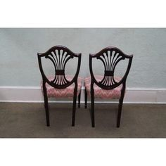 Image of Stickley Mahogany Federal Dining Chairs - Set of 4