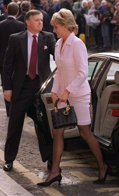 From the Birkin to the Alexa: celebrity muses who have inspired designer bags - Princess Diana carrying  the Lady Dior bag by Christian Dior.