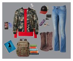 """""""Ronnie Pierce's first day at Forks High"""" by melissabond97 on Polyvore featuring Seven7 Jeans, Roper, Top of the World, FOSSIL, Vera Bradley, John Lewis, Gucci, KitSound and M&F Western"""