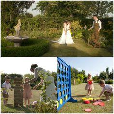 Garden Games for Weddings