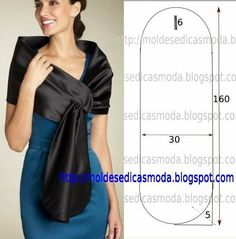 Coprispalle #sewing #pattern #cartamodelli