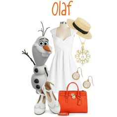 """""""Dapper Day 2014: Olaf"""" by bleeanco on Polyvore"""