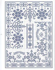 Beautiful cross stitch border charts Gallery.ru / Фото #70 - 9 - OlgaHS