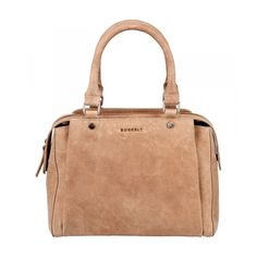 Burkely Stacey Star Citybag 770870 Sand, ook in black, cognac, hoody grey en atlantic blue. #burkely #bag #handbag #tas #handtas #beige #sand #small