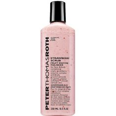 Peter Thomas Roth Strawberry Scrub 8.5 oz (251 ml) ($38) ❤ liked on Polyvore featuring beauty products, skincare, face care, beauty, filler, peter thomas roth skin care, anti aging skincare, peter thomas roth, antiaging skin care and anti aging skin care