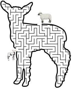 Lamb Of God Picture Lamb Of God Coloring Sheet 7 Gif