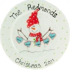 Image detail for -Family Plate Christmas Plates, Christmas Art, Christmas Decorations, Christmas Holidays, Christmas Ornaments, Santa Plates, Family Christmas, Sharpie Crafts, Sharpie Plates
