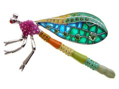 Beautiful and Unusual Dragonfly Pin