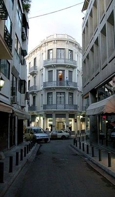 Street in Central Athens, Greece