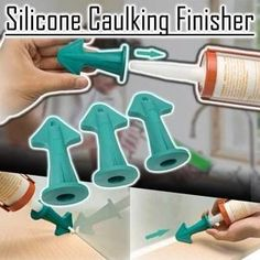 Start sealing and caulking tasks with Silicone Caulking Finisher . The nozzles are in different radius to meet your sealing needs. The caulking toolset is easy