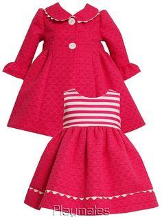 Bonnie Jean Infant Girls Spring-Summer Coat & Dress 12-18-24 Months on eBay!