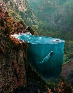 As manipulações surrealistas de Hüseyin Şahin - O turco Hüseyin Şahin cria incríveis manipulações digitais surrealistas que instigam a curiosidade e a imaginação. Confira!
