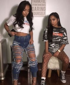 46 Sophisticated Siangie Twins Outfits Ideas For You And Your Twin - Outfit Ideen Twin Outfits, Dope Outfits, Fall Outfits, Summer Outfits, Casual Outfits, Fashion Outfits, Sport Outfits, Siangie Twins, Urban Fashion