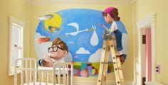 hd up pixar images Up Pixar, Pixar Movies, Disney Movies, Disney Up, Disney Magic, Walt Disney, Disney Couples, Disney House, Fantasias Up