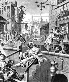 Gin Lane, etching & engraving by William Hogarth, I first wrote about gin back in It's almost hard to believe but that's twelve years ago. In those days, I found myself describing gin as, I quote: 'slighty old-fashioned. William Hogarth, Gin History, British History, London History, History Books, Städel Museum, City Museum, Museum Shop, O Gin