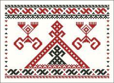Узоры и символы славянской вышивки. Обереги. - Мир женщины - Каталог статей - Лавка Чудес