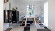 Fraster felt carpet design Afloor grey colors in the livingroom