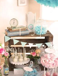 Party vintage in rosa e turchese Blog, Party & Compleanni Piccoli Elfi