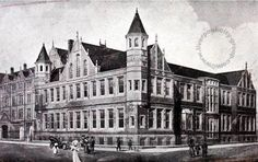 Liverpool, history, liverpool-history-l3-royal-infirmary-brownlow-street-1911