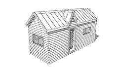 At Humble Homes we design our tiny houses to be innovative & flexible so that they work around you and your needs. Check out our tiny house plans today! Shed To Tiny House, Tiny House Plans, Home Design Plans, Plan Design, Living Area, Living Room, Sleeping Loft, Punch, Small Spaces