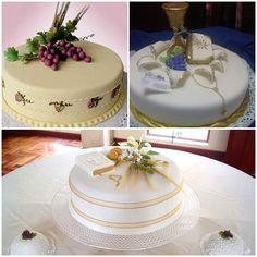 tortas o pasteles para primera comunion de niña2