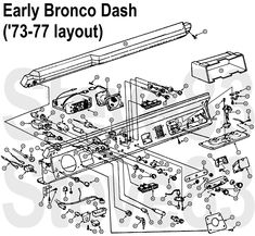 ebframexdims jpg early bronco frame details if the image is too rh pinterest com 1974 Bronco 1979 Bronco