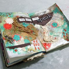 Mixed Media Art Journal: Let Your Soul Speak | Jenn Garman