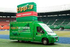 Österreichische Sportwetten: tipp3 Betmobil Sports Betting, Pray, Tips
