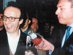 Roberto Benigni alla Notte degli  Oscar 1999