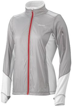 Marmot Women's Fusion Jacket, Silver/White, Small by Marmot. $112.50. Forging through fickle weather takes resilience and flexibility – qualities embodied by the shape-shifting Fusion Jacket. This jacket has a hybrid fabric construction that adapts to variable conditions: ultralight Pertex Woven shields the front torso from wind and moisture, while super-durable stretch nylon back and side panels offer plenty of mobility.