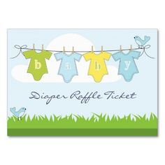 Shop Baby Boy Clothes Line Diaper Raffle Business Card created by ImageAustralia. Diaper Raffle Tickets, New Baby Cards, Clothes Line, Baby Boy Outfits, Smudging, Business Cards, Cute Babies, New Baby Products, Feelings
