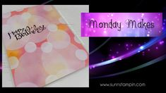 Bokeh featuring Stampin' Up! Products