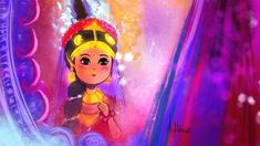 No photo description available. Little Krishna, Cute Krishna, Radha Krishna Love, Radhe Krishna, Lord Krishna, Shiva, Cute Baby Wallpaper, Cute Cartoon Characters, Radha Krishna Pictures