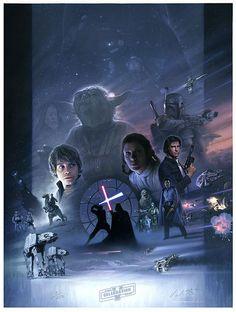 print by Jerry Vanderstelt by Official Star Wars Blog, via Flickr