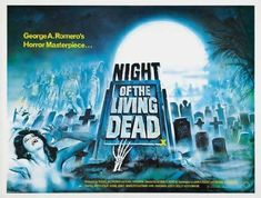 Night of the Living Dead POSTER Movie (30 x 40 Inches - 77cm x 102cm) (1968) (UK - Style A) @ niftywarehouse.com #NiftyWarehouse #NightOfTheLivingDead #Zombies #Horror #HorrorMovies #Movies #Zombie