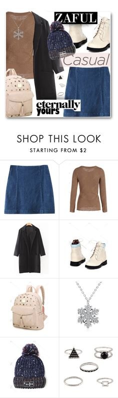 """""""ZAFUL STYLE"""" by wannanna ❤ liked on Polyvore featuring denim, casualoutfit, CasualChic, cozychic and zaful"""